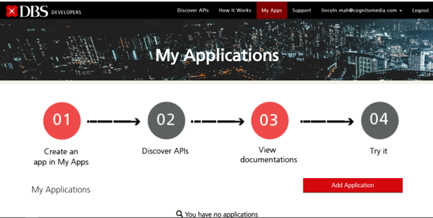 DBS API Developer Portal