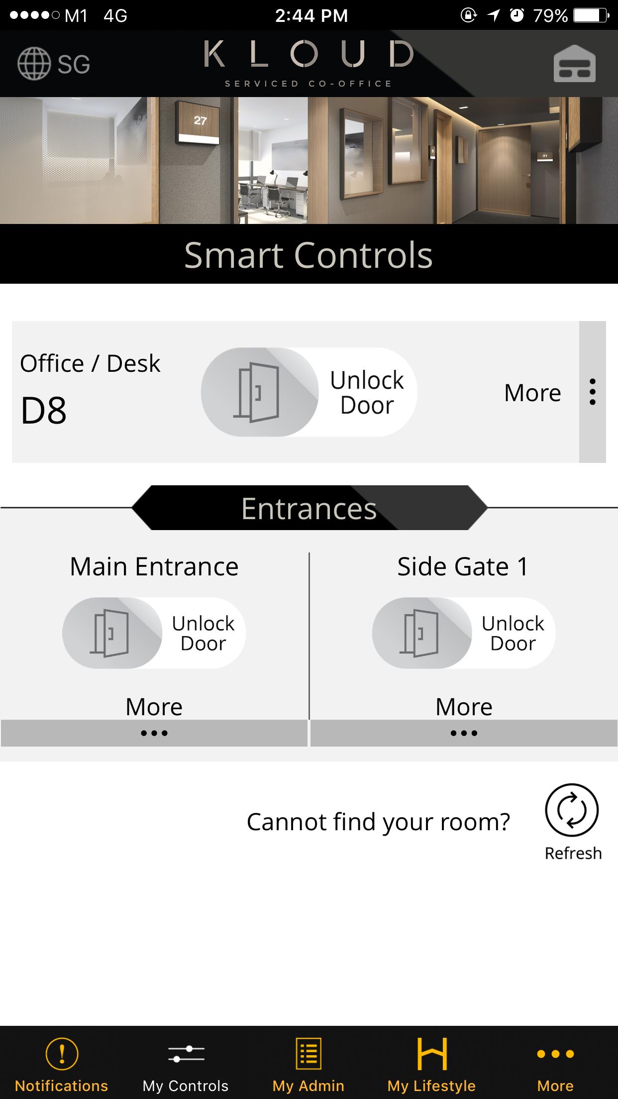 KLOUD Smart Mobile App