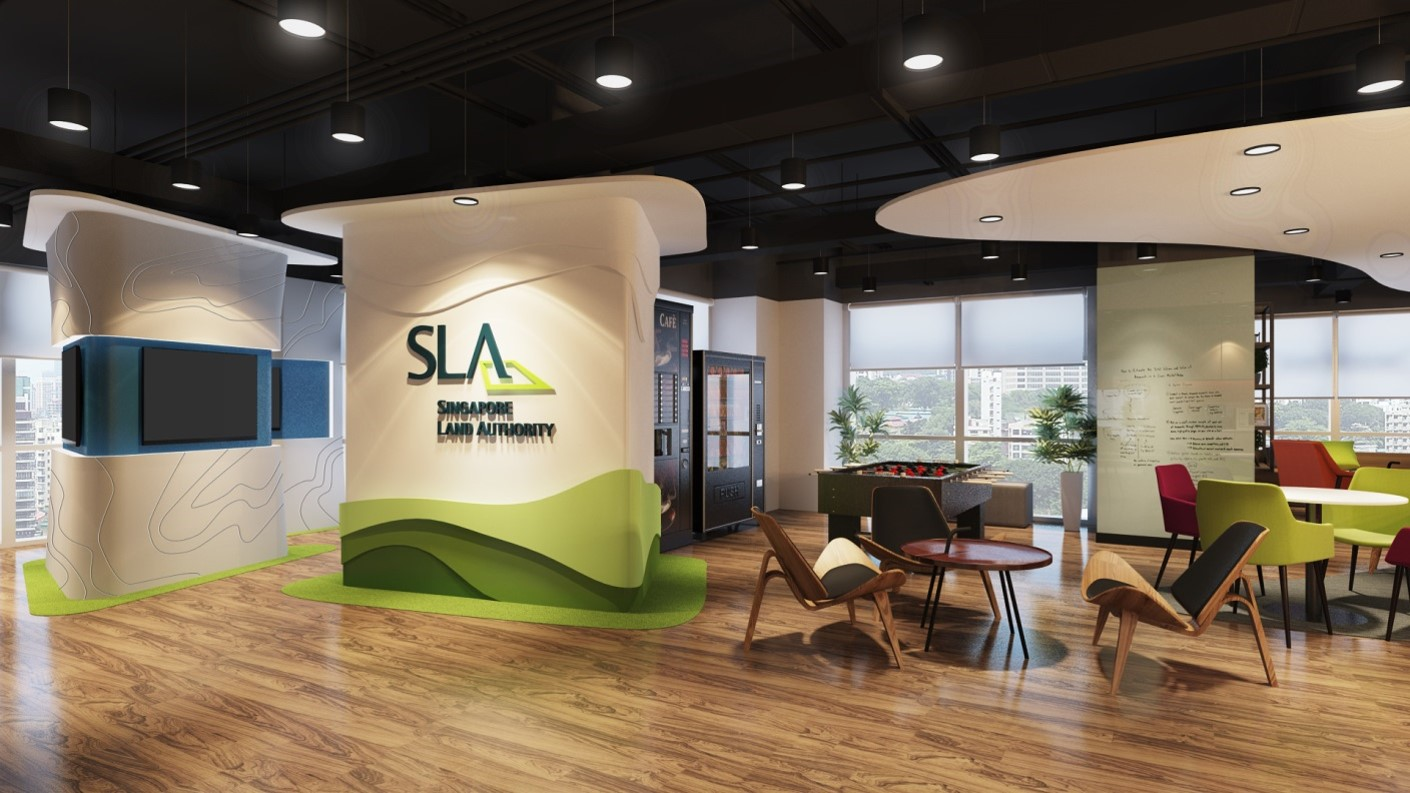 Singapore Land Authority at PSA Building