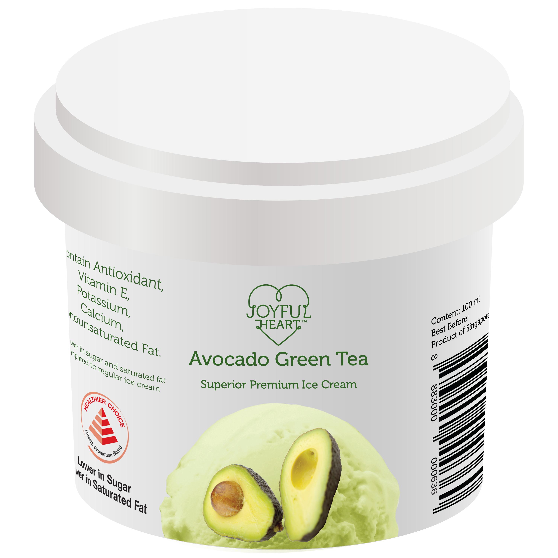 Avocado Green Tea Ice Cream