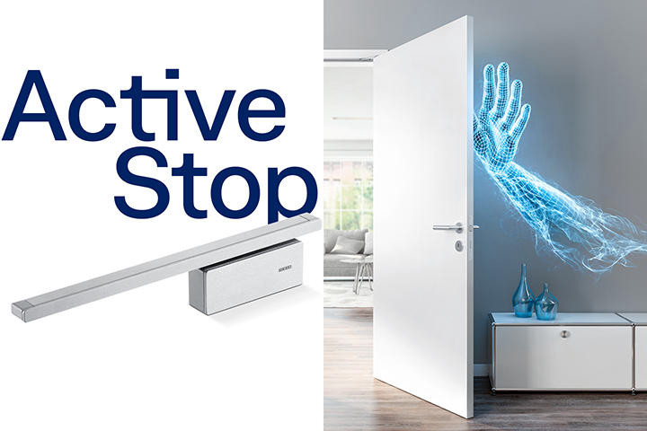 GEZE ActiveStop door dampener