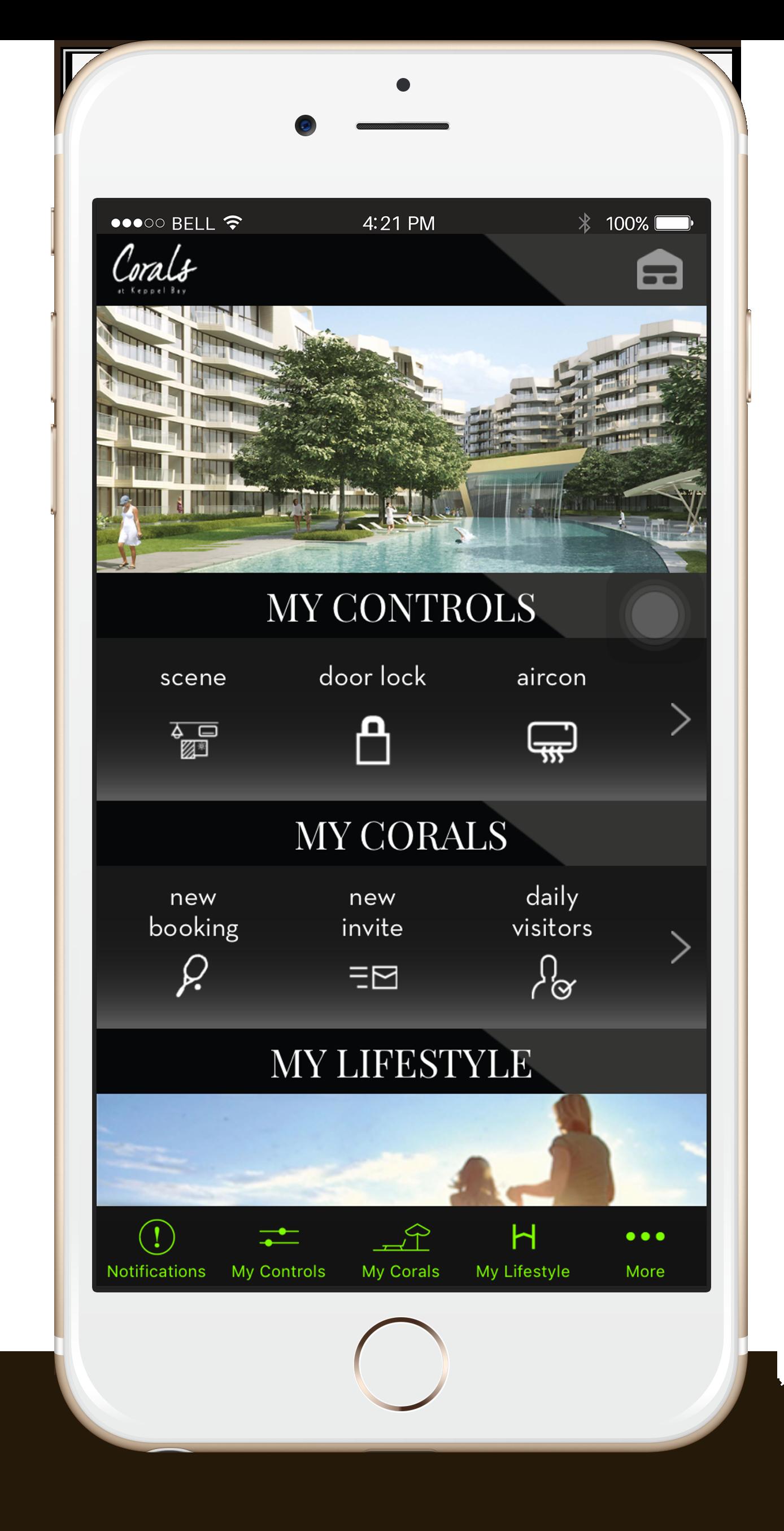 Corals at Keppel Bay - Habitap Smart Home App