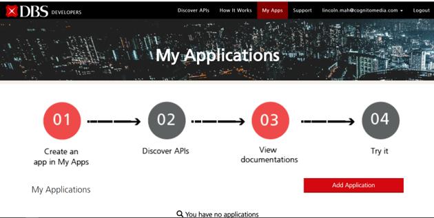 DBS API Developer Portal