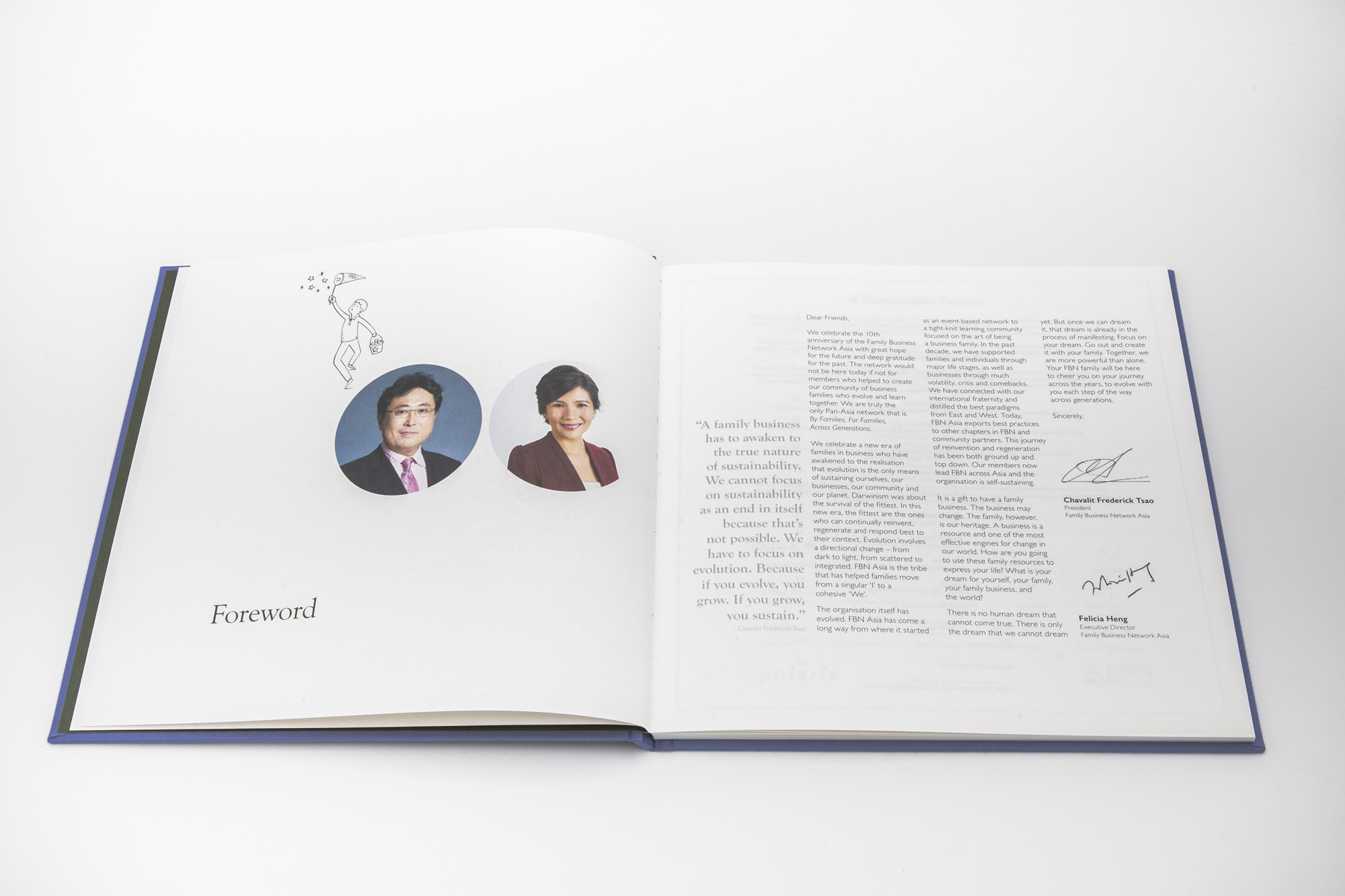 Family Business Network (FBN) Asia, 10th Anniversary Commemorative Book