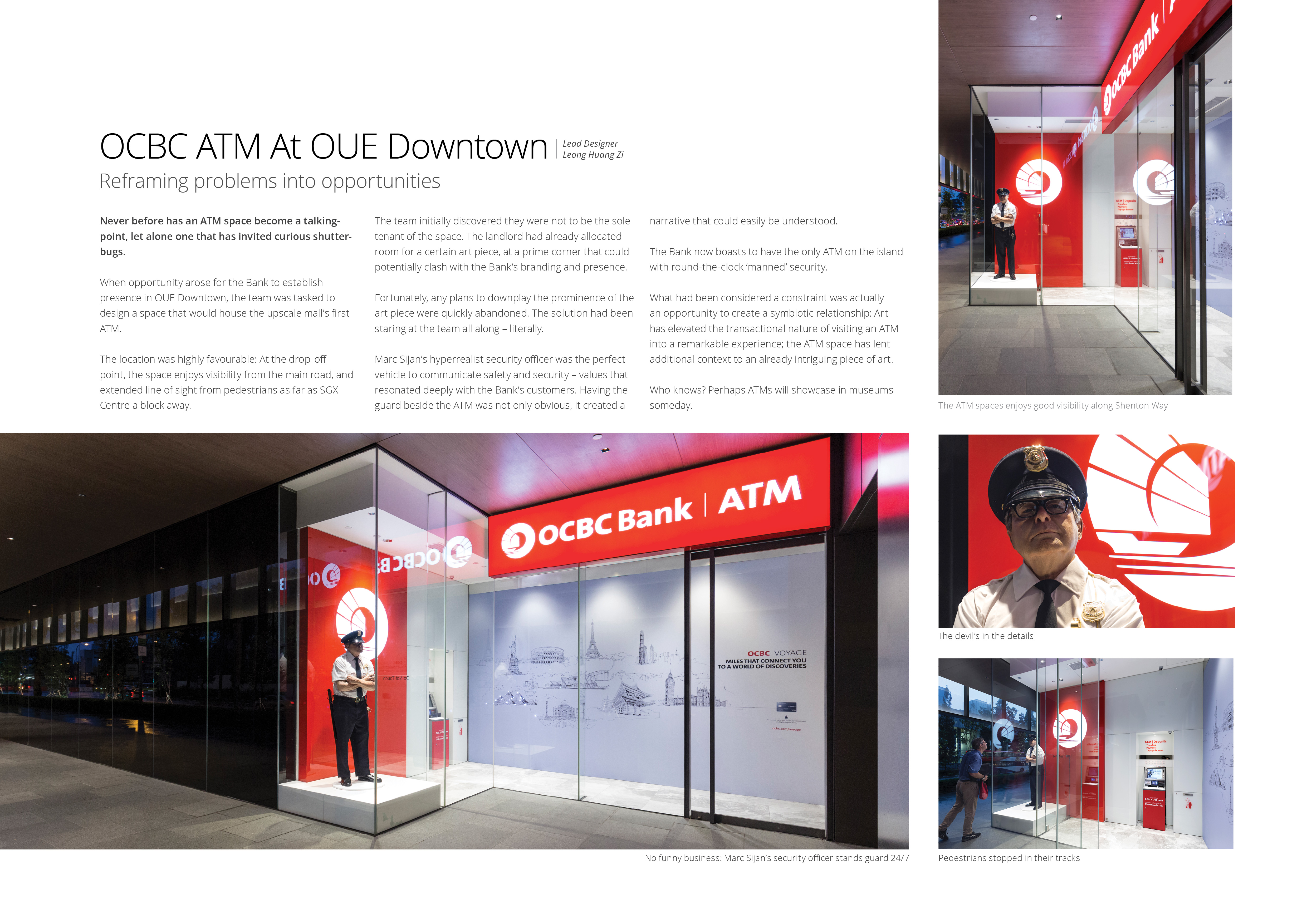 OCBC ATM At OUE Downtown