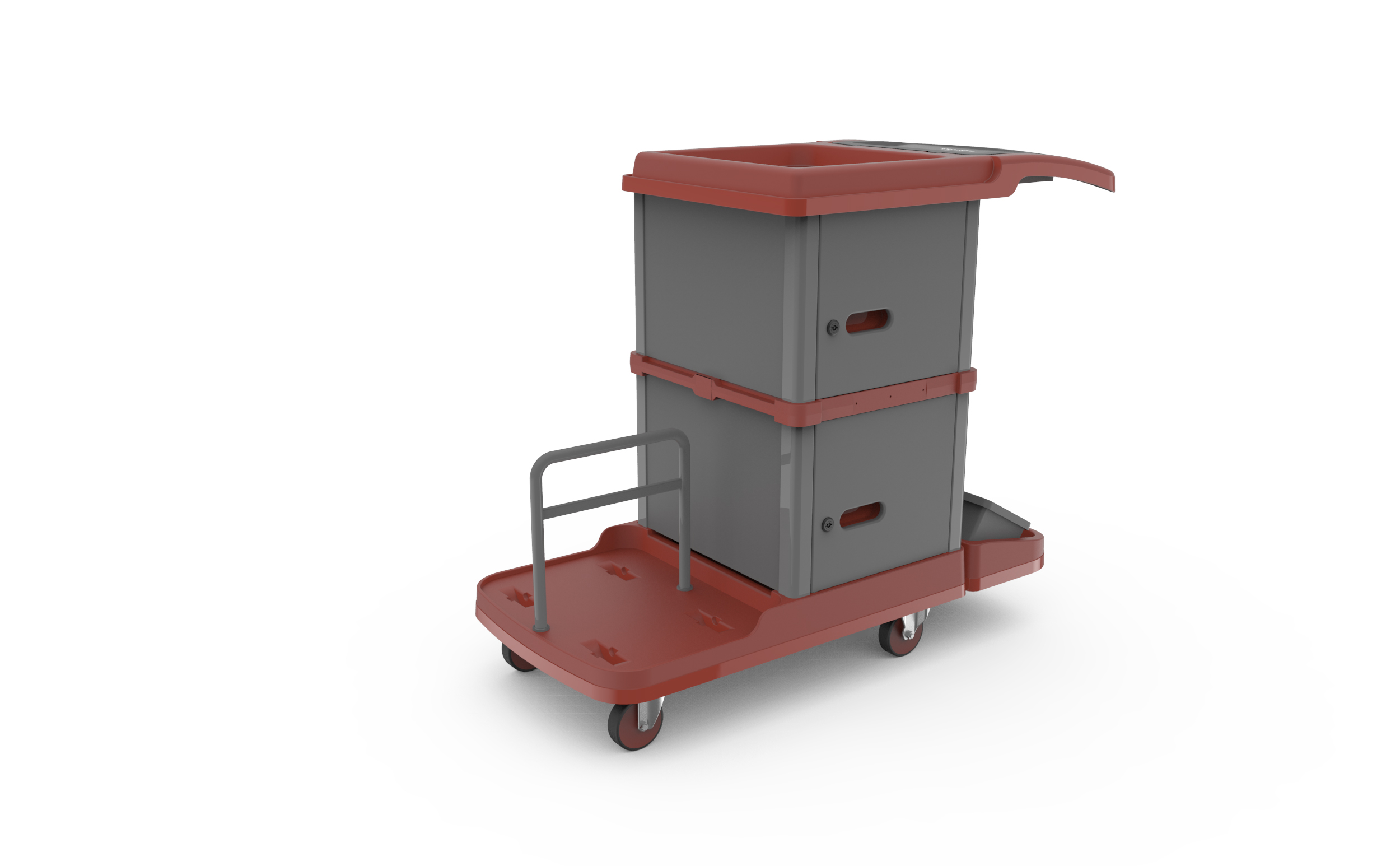 Papi Trolley and Mop System